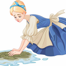 cinderella floor washing COLOURBOX23878455